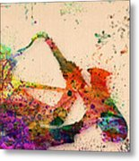 Saxophone  Metal Print by Mark Ashkenazi
