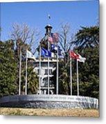 Sc Veterans Monument Metal Print