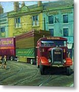 Scammell Showtrac Metal Print