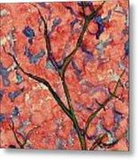 Scarlet Flowers Metal Print