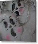 Scary Ghosts Metal Print