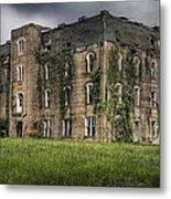 Scary School House Metal Print by Danny Pickens