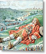 Scene From Gullivers Travels Metal Print