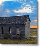 Scene From The Past Metal Print