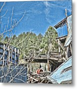 Scenes From An Abandoned Factory In South Dakota 2 Metal Print