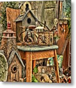 Scenes From An Outside Sale Metal Print