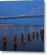 Scenic Bay Bridge Metal Print