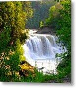 Scenic Falls Metal Print
