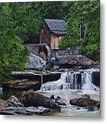 Scenic Grist Mill Metal Print