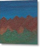 Scenic Mountains Metal Print