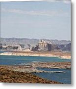 Scenic Lake Powell Metal Print
