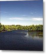 Scenic Maine Lake Metal Print