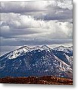 Scenic Moutains Metal Print