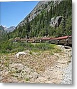 Scenic Railroad Metal Print