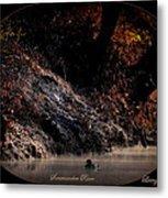 Scenic Sucarnoochee River - Wood Duck Metal Print