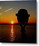 Scenic Sunset Metal Print by Stephen Melcher
