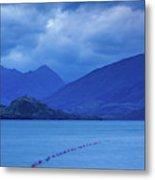 Scenic View Of A Lake At Dusk, Lake Metal Print