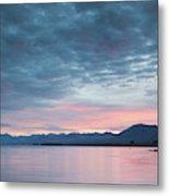 Scenic View Of Lake At Dusk, Lake Metal Print