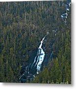 Scenic Waterfall Metal Print