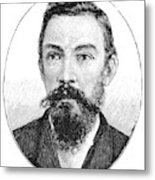 Schalk Willem Burger (1852-1918) Metal Print