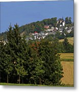 Schauenstein - A Typical Upper-franconian Town Metal Print by Christine Till