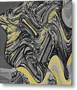 Scheherazade Glow Metal Print