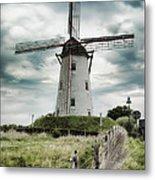 Schellemolen Windmill Metal Print
