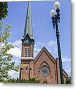Schenectady Bell Tower Metal Print