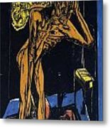 Schlemihls In The Loneliness Of The Room Metal Print