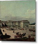 Schloss Schonbrunn, 1759-60 Oil On Canvas Metal Print