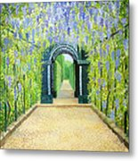 Schoenbrunn In Vienna The Palace Gardens Metal Print