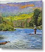Schoharie Creek Metal Print by Kenneth Young