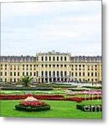 Schonbrunn Palace In Vienna Austria Metal Print