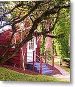 School House Metal Print by Donald Torgerson