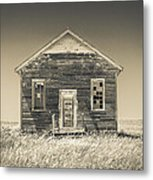 School Marm Metal Print by Donni Mac
