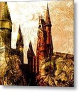School Of Magic Metal Print by Anastasiya Malakhova