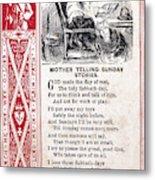 School Trade Card, C1860 Metal Print