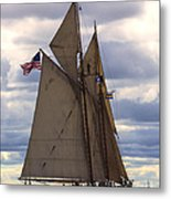 Schooner Virginia Metal Print