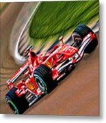Schumacher Bend Metal Print