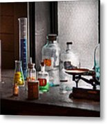 Science - Chemist - Chemistry Equipment  Metal Print