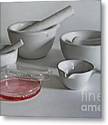 Science Class Metal Print