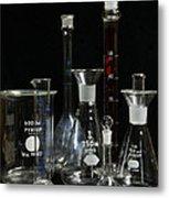 Science Lab Chemistry Metal Print