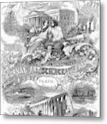 Scientific American, 1867 Metal Print