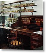 Scientist - Office In Chemistry Lab Metal Print by Susan Savad