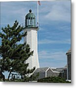 Scituate Light Five Metal Print