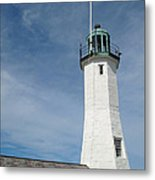 Scituate Light Four Metal Print