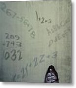 Scolionophobia - Fear Of School Metal Print by Joana Kruse