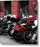 Scooter Colors Metal Print