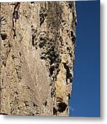 Scorched Earth Climbing 3 Metal Print