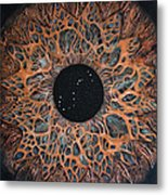 Scorpio Eye Constellation Metal Print